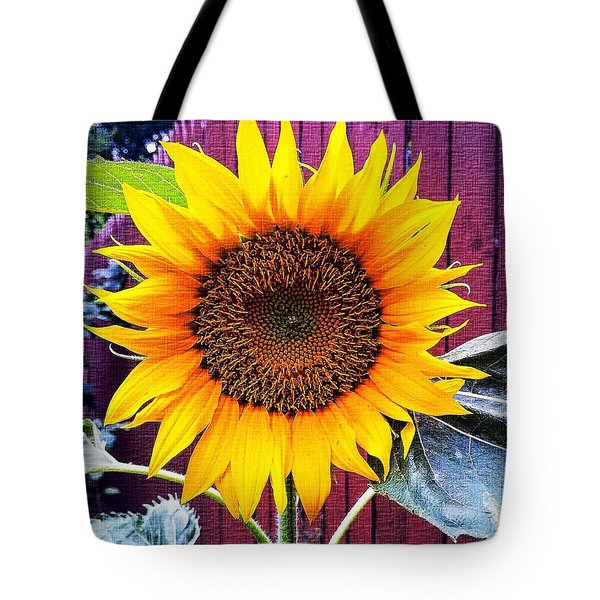 Sunny Day Tote Bag by MaryLee Parker