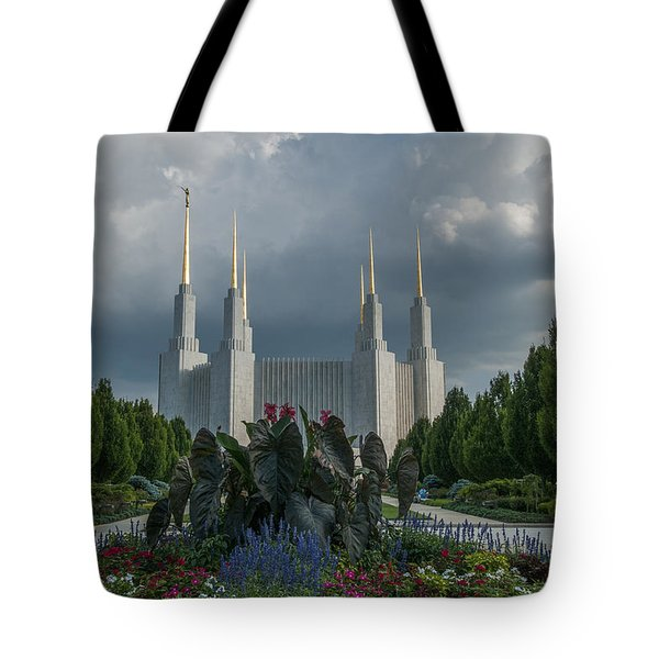 Sunny Day With Clouds Tote Bag