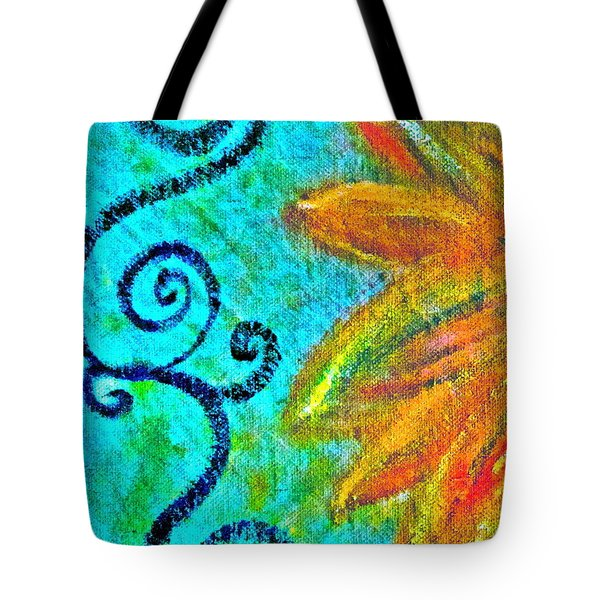 Sunny Day Yellow Tote Bag by Gwyn Newcombe
