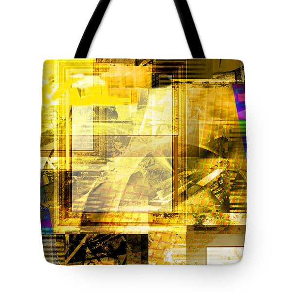Tote Bag featuring the digital art Sunny Days by Art Di