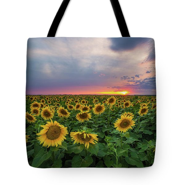 Sunny Disposition  Tote Bag by Aaron J Groen