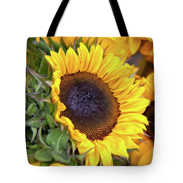 Tote Bag featuring the photograph Sunny Face by Susan Cole Kelly