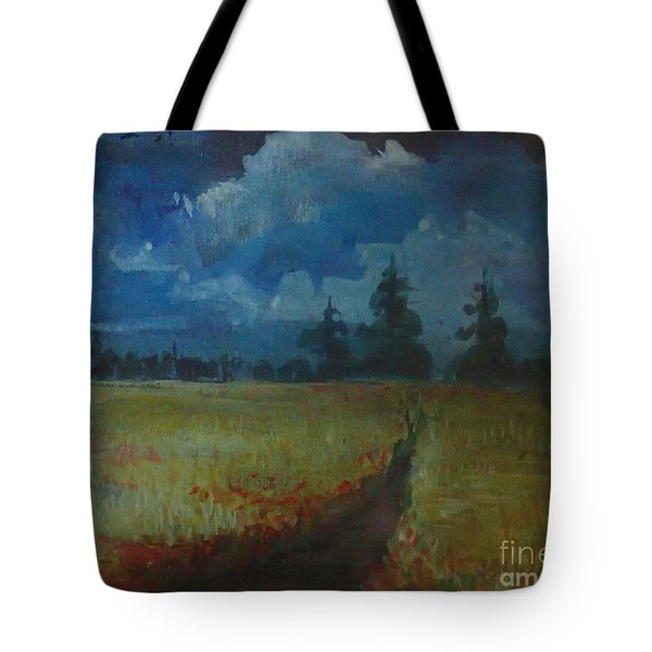 Sunny Field Tote Bag
