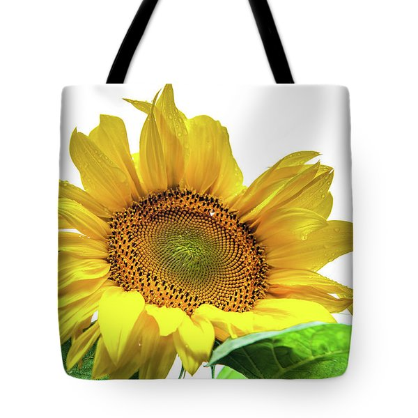 Tote Bag featuring the photograph Sunny Flower by Jenny Rainbow