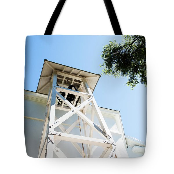 Tote Bag featuring the photograph Sunny Game Day In Athens by Parker Cunningham
