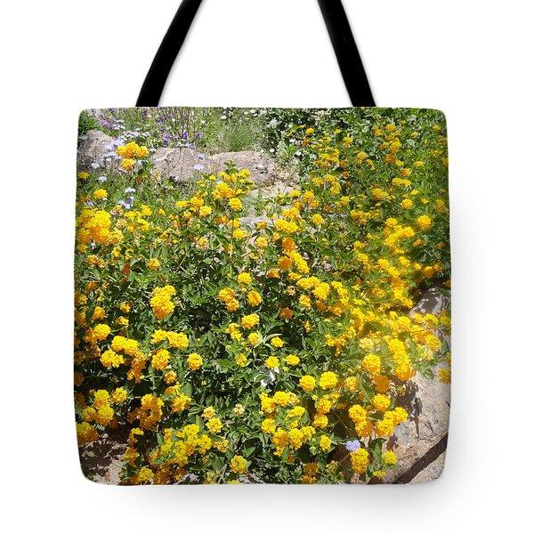 Sunny Garden Tote Bag