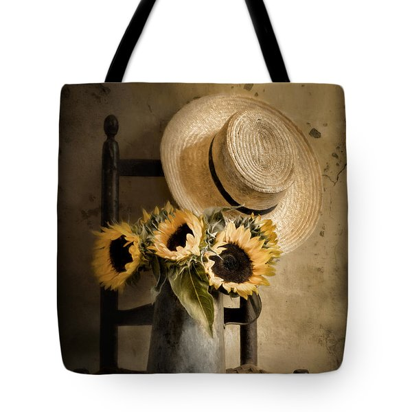 Sunny Inside Tote Bag by Robin-Lee Vieira