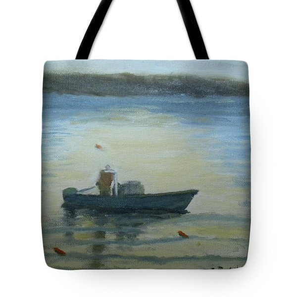 Sunny Morning And Lobster Tote Bag