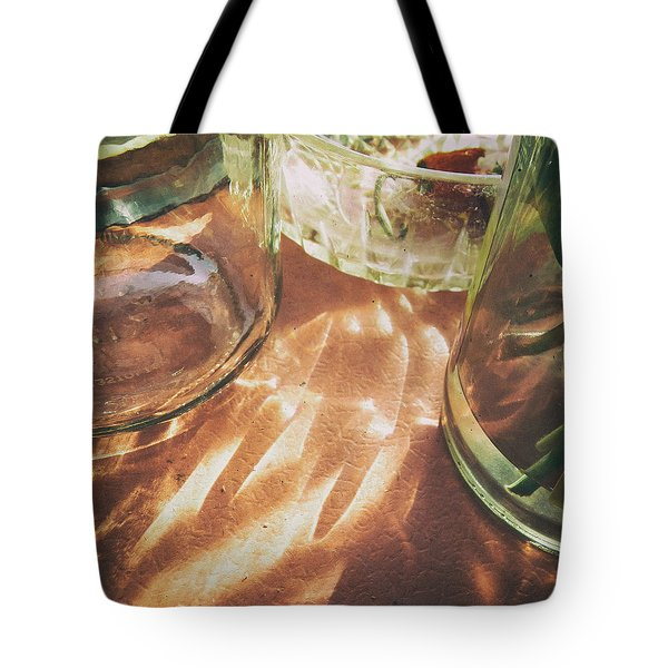 Tote Bag featuring the photograph Sunny Morning by Steven Huszar