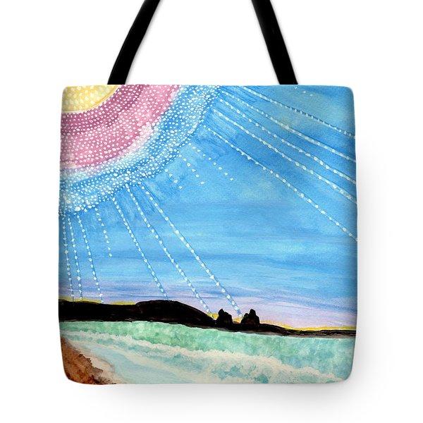 Sunny Ocean Days Are Bigger Than Life Tote Bag