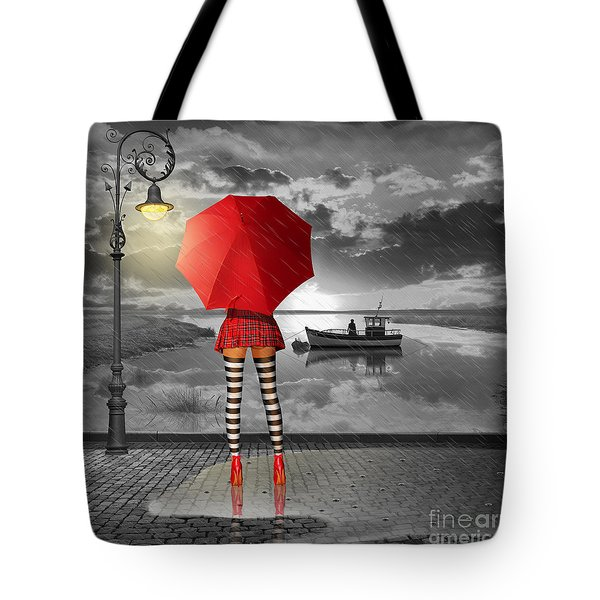 Sunny Outlook Tote Bag by Monika Juengling