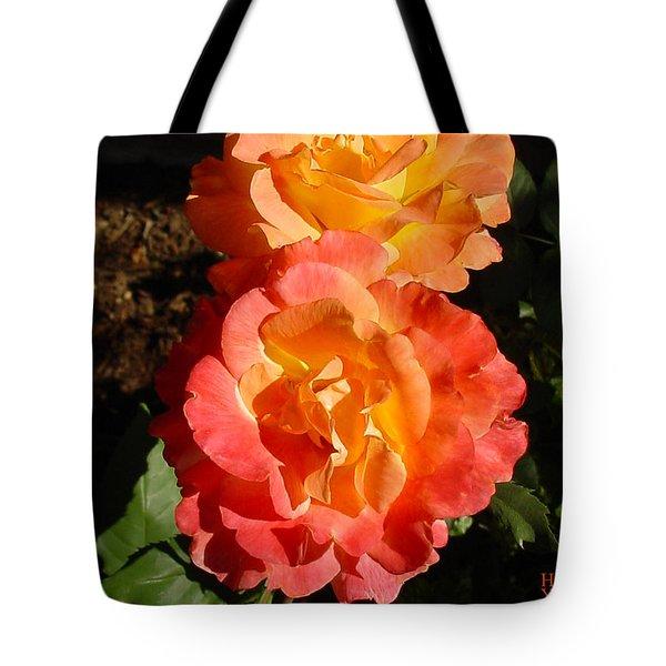 Sunny Roses Tote Bag