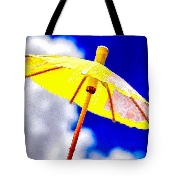 Sunny Shelter Tote Bag