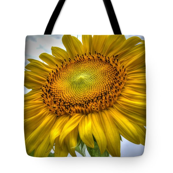 Sunny Side Up Tote Bag by Charlotte Schafer