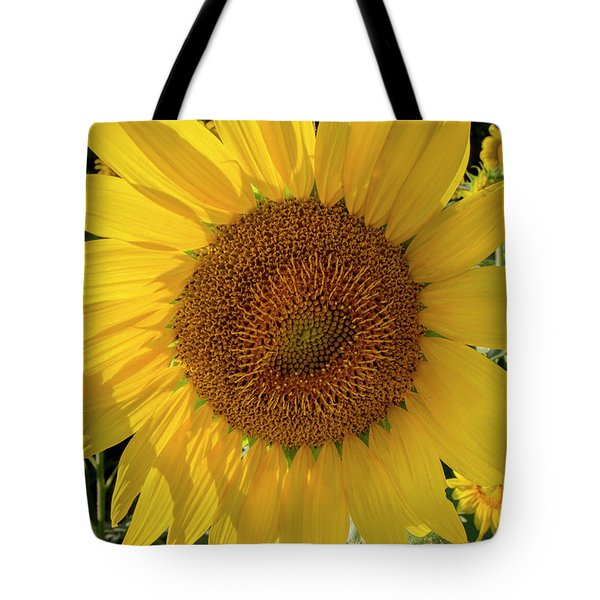 Tote Bag featuring the photograph Sunny Side Up by Chris Scroggins