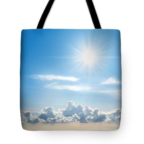 Sunny Sky Tote Bag by Carlos Caetano