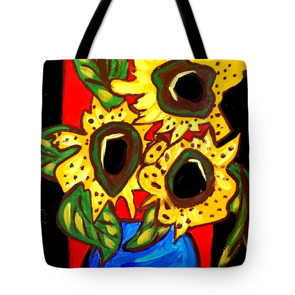 Sunny Sunflowers 1 Tote Bag
