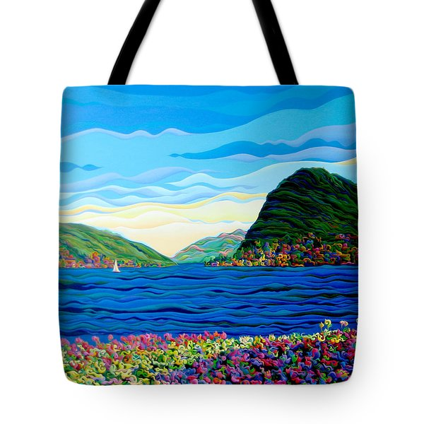 Sunny Swiss-scape Tote Bag