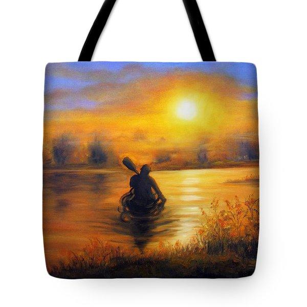 Sunny Way Tote Bag
