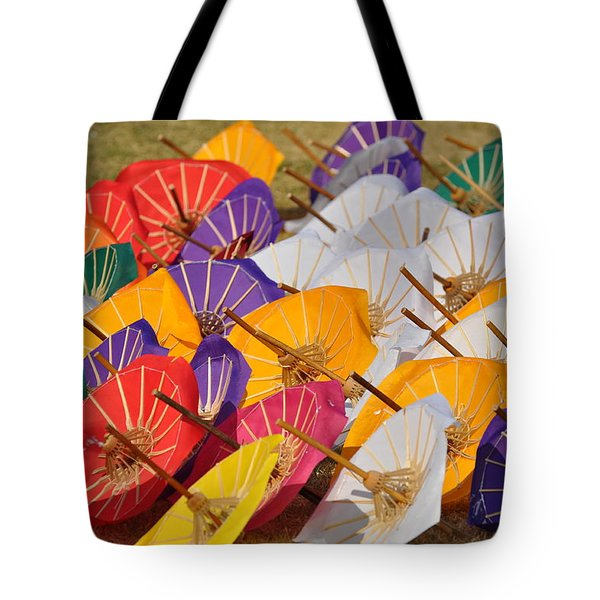 Sunny With A Chance Of Rain Tote Bag