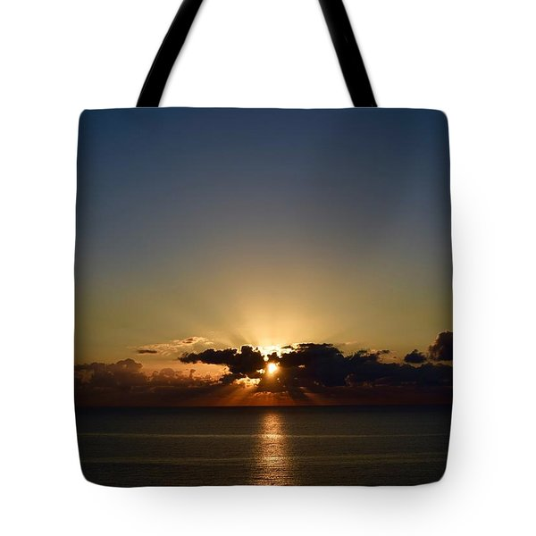 Sunrise 2 Tote Bag by Shabnam Nassir