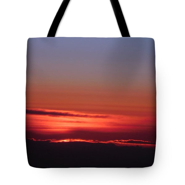 Sunrise A Different View Tote Bag