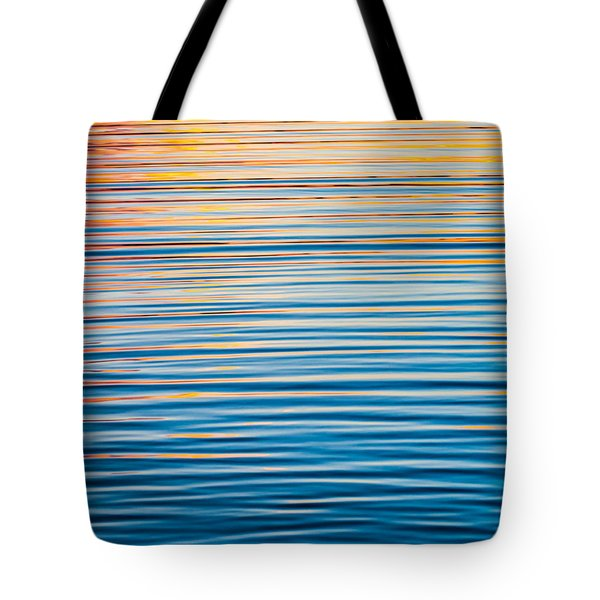 Sunrise Abstract  Tote Bag