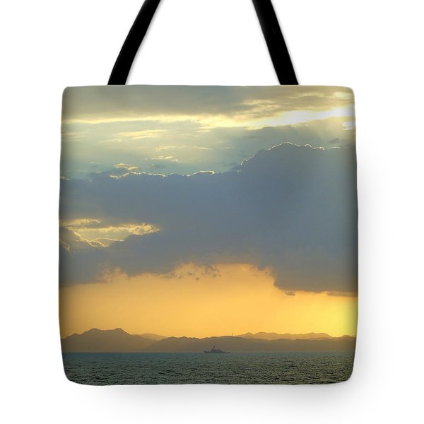 Sunrise After The Typhoon Tote Bag