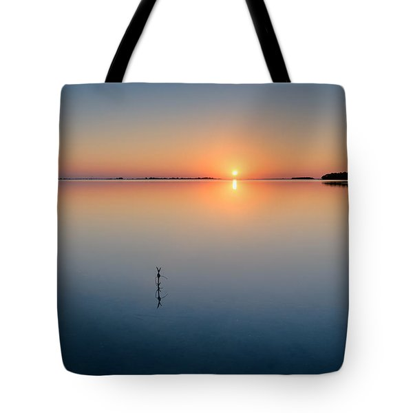 Sunrise Along The Pinellas Bayway Tote Bag