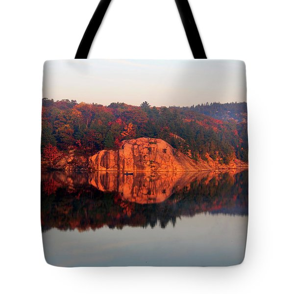 Tote Bag featuring the photograph Sunrise And Harmony by Debbie Oppermann