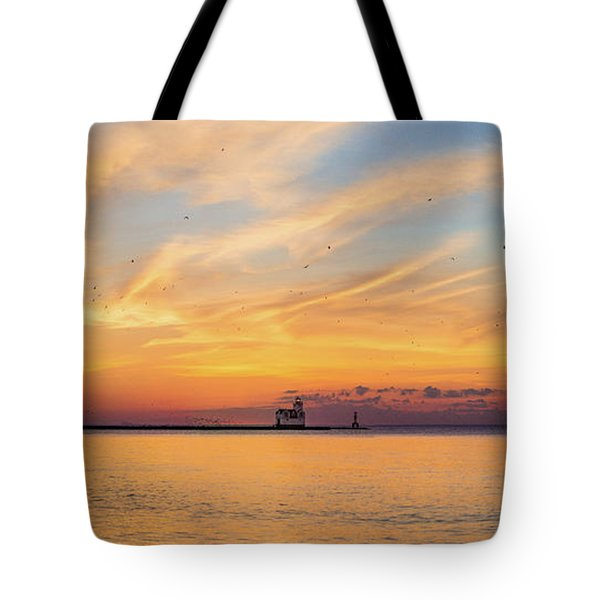 Tote Bag featuring the photograph Sunrise And Splendor by Bill Pevlor