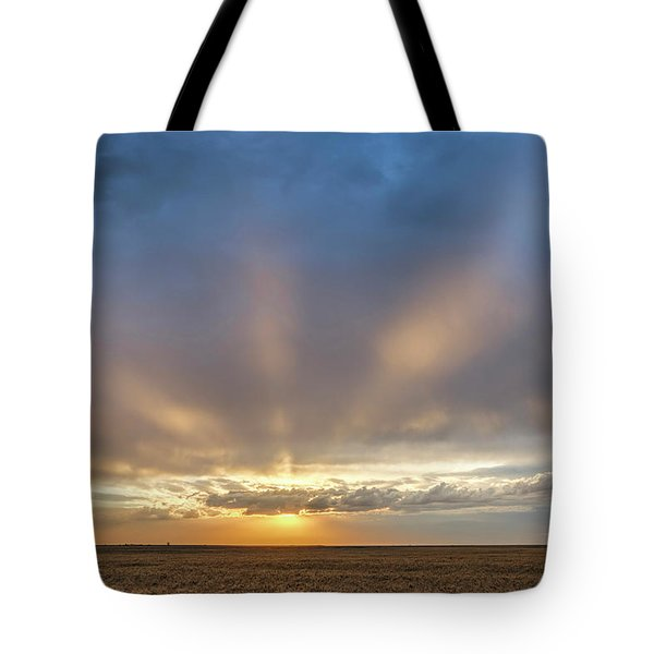 Tote Bag featuring the photograph Sunrise And Wheat 03 by Rob Graham
