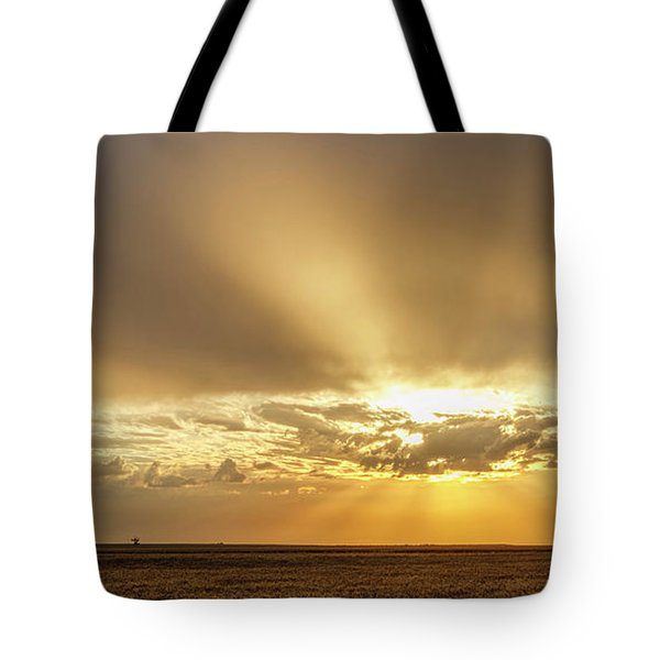 Tote Bag featuring the photograph Sunrise And Wheat 04 by Rob Graham