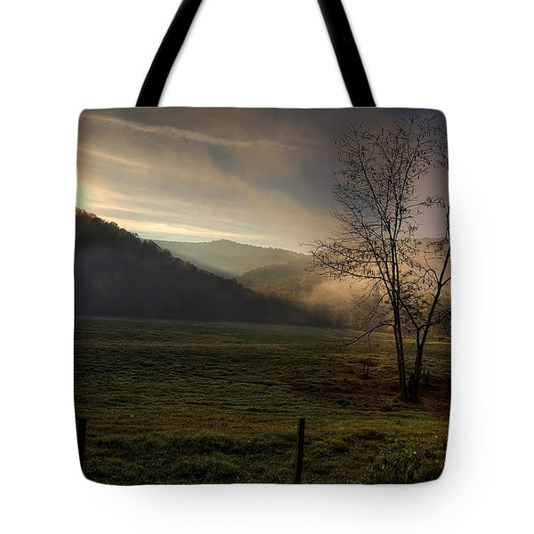 Tote Bag featuring the photograph Sunrise At Big Hollow by Michael Dougherty