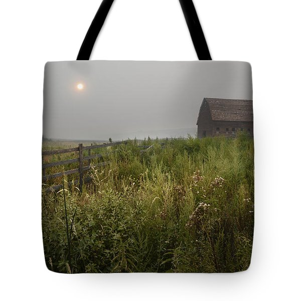 Sunrise At Black Sage Tote Bag