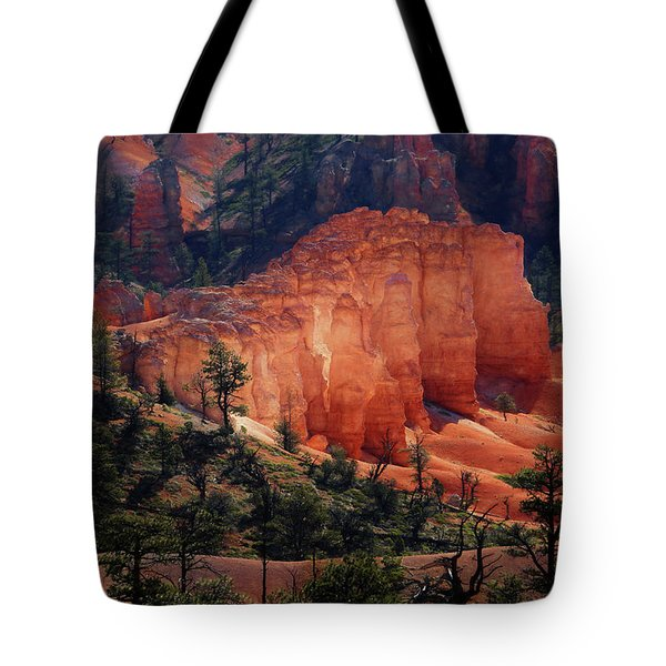 Tote Bag featuring the photograph Sunrise At Bryce Canyon by Donna Kennedy