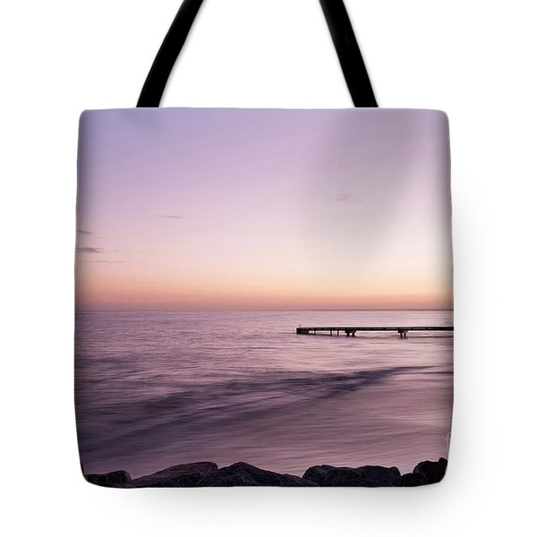 Tote Bag featuring the photograph Sunrise At Busselton by Ivy Ho