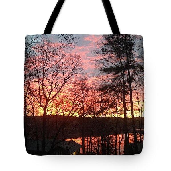 Sunrise At Carolina Trace Tote Bag