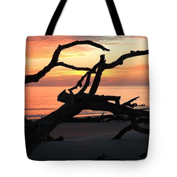 Sunrise At Driftwood Beach 3.1 Tote Bag