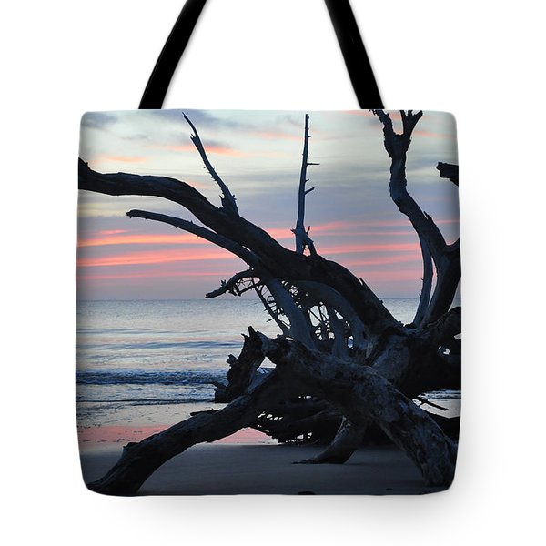 Sunrise At Driftwood Beach 5.1 Tote Bag
