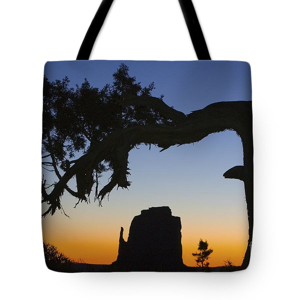 Tote Bag featuring the photograph Sunrise At East Mitten by Jerry Fornarotto