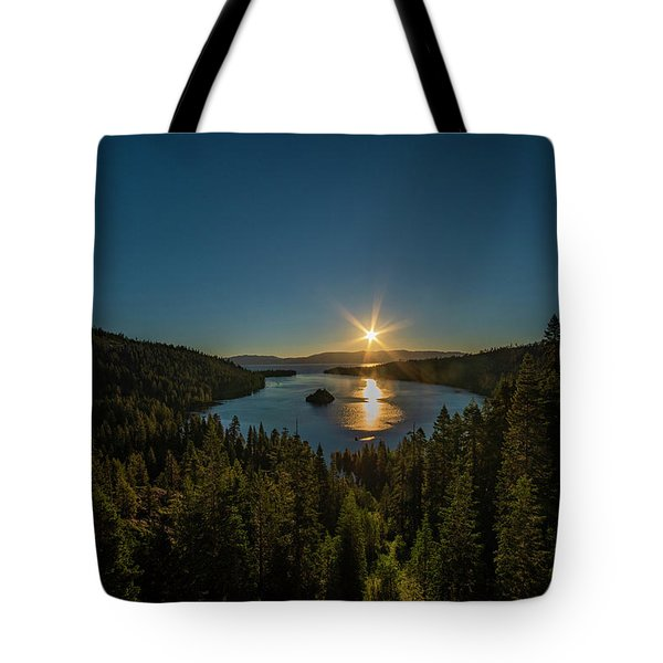 Sunrise At Emerald Bay Tote Bag