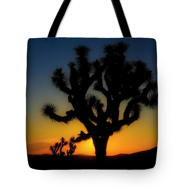 Sunrise At Joshua Tote Bag