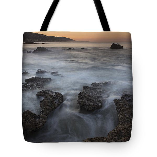 Tote Bag featuring the photograph Sunrise At Laguna Beach II by Keith Kapple