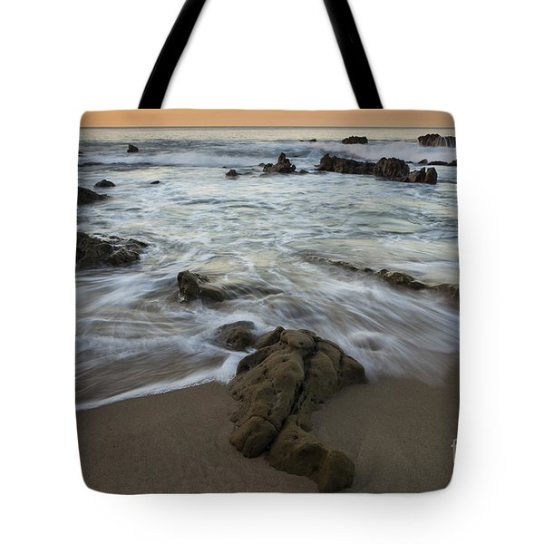 Tote Bag featuring the photograph Sunrise At Laguna Beach by Keith Kapple