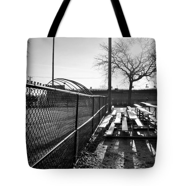 Sunrise At Lions Field Tote Bag