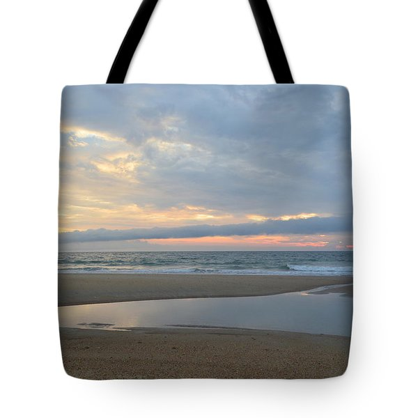 Tote Bag featuring the photograph Sunrise At Loggerhead by Barbara Ann Bell