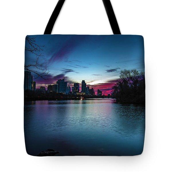 Sunrise At Lou Neff Point Tote Bag