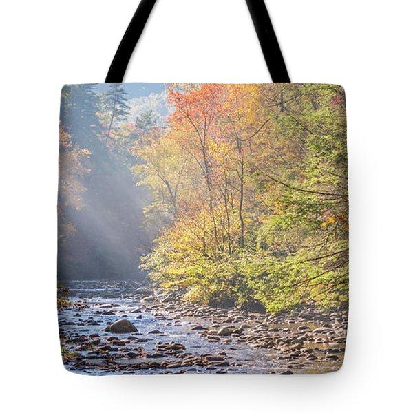 Sunrise At Metcalf Bottoms Tote Bag