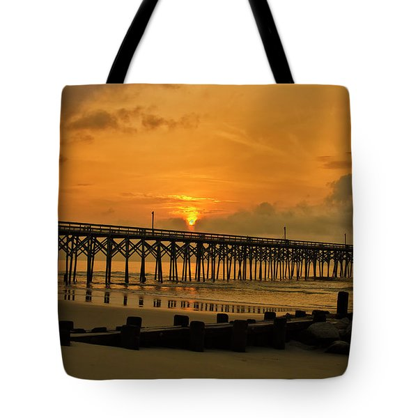 Sunrise At Pawleys Island Tote Bag